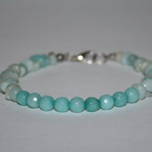 """Nwot Amazonite Bracelet 8"""" long"""